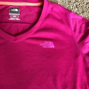 North Face Womens Workout T shirt